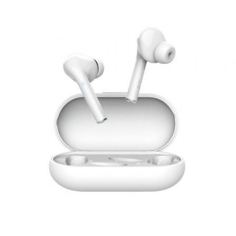 AURICULARES INTRAUDITIVOS TRUST NIKA TOUCH BLUETOOTH TACTIL BASE RECARGABLE COLOR BLANCO 23705
