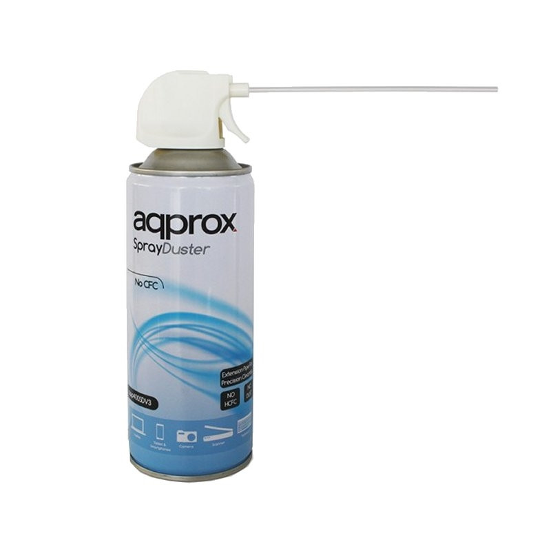 SPRAY DUSTER APPROX 400 ML (aire comprimido, limpieza) APPROX  APP400SD version V3